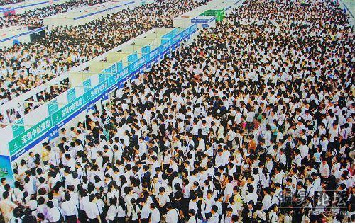 参考:15万人の中国企業説明会