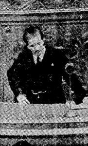 斎藤隆夫は、昭和15年(1940年)に衆議院で軍と政府を批判する演説