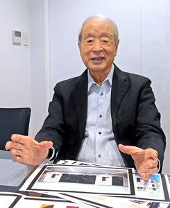 エンブレム問題について語る永井一正さん「佐野研二郎の当初案が商標登録されていた他の商標のパクリだったので、組織委の依頼で何度か修正したらベルギーの劇場ロゴと似てしまった」、「ほかの応募案や審査の過程も