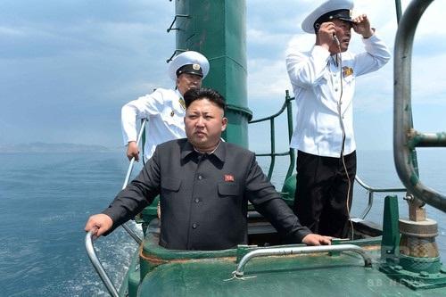 北朝鮮の潜水艦数十隻が基地離脱 韓国軍が警戒態勢強化