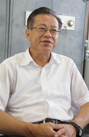 有明中学校長の本田道隆氏
