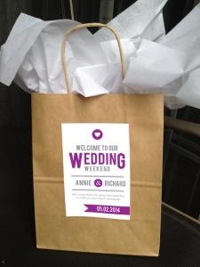 結婚式引き出物紙バッグ手作り