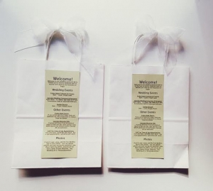 結婚式引き出物紙バッグ手作り5
