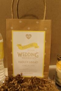 結婚式引き出物紙バッグ手作り7