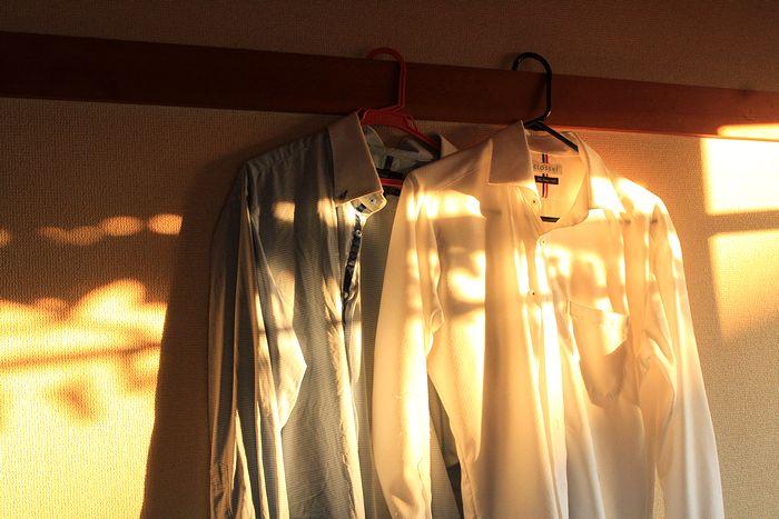 夕方のシャツ1