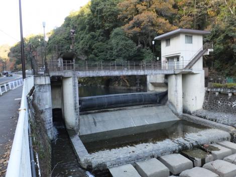 東京電力山崎発電所取水施設
