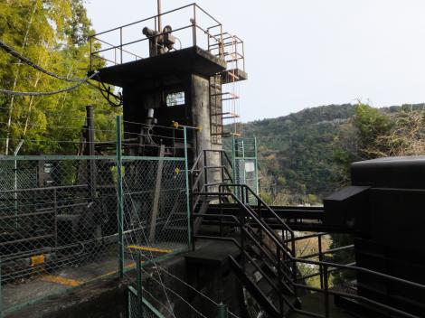 山崎発電所上池・調整池