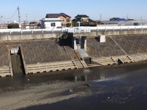 豊田堰取水施設