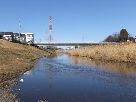 鈴川・下之宮橋下流