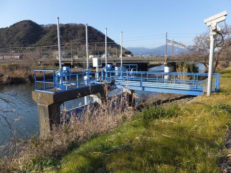 小桜川樋門