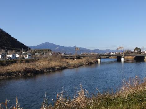 東海道線下流の金目川