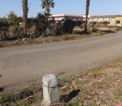 陸軍用地境界杭・陸軍士官学校周辺