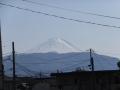 富士山・甲府駅付近より