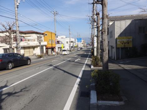 千秋橋より東方を望む