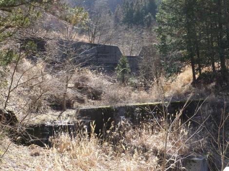 印川荒廃砂防ダム