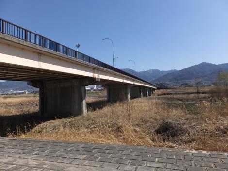笛吹川・蛍見橋