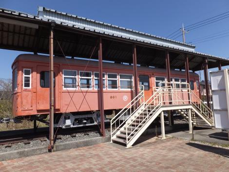 山梨交通の電車
