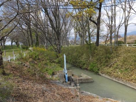 信玄堤と水害防備保安林