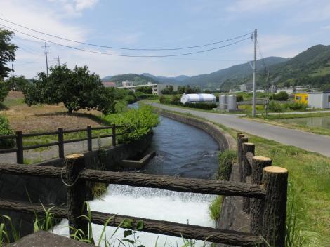 武永田用水・高台親水公園付近