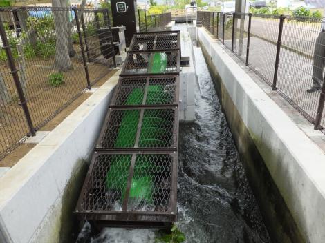 武永田用水・小水力発電