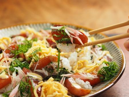 漬けブリの海鮮ちらし寿司47