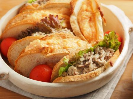 玉子サンド鯖サンド26