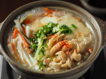 鶏皮湯豆腐13