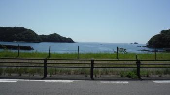 海が見えた熊野灘