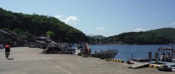 典型的な日本の漁村