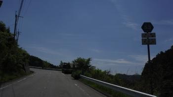 K53で野迫川村へ