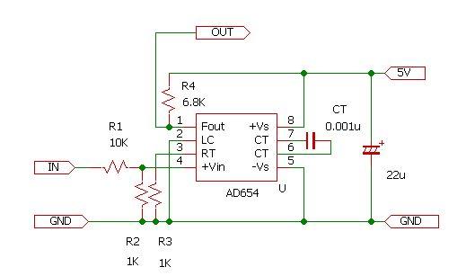 AD654実験回路1