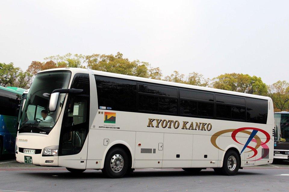 京都観光バス あ713