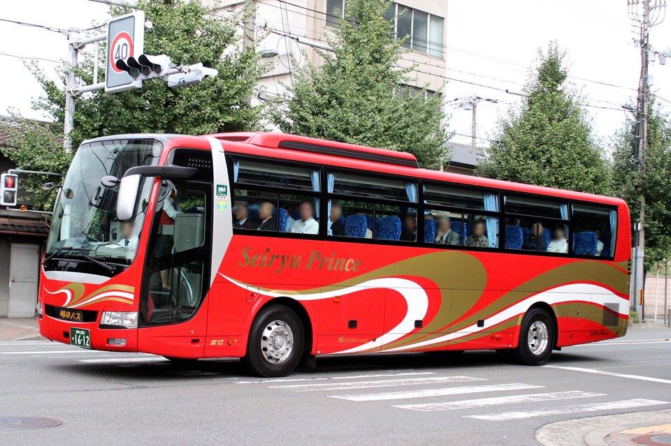 岐阜バス観光 か1612