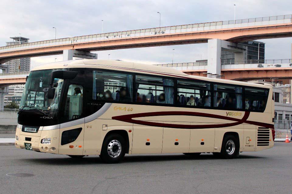 ヤサカ観光バス か1764
