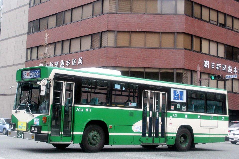 熊本都市バス か3014