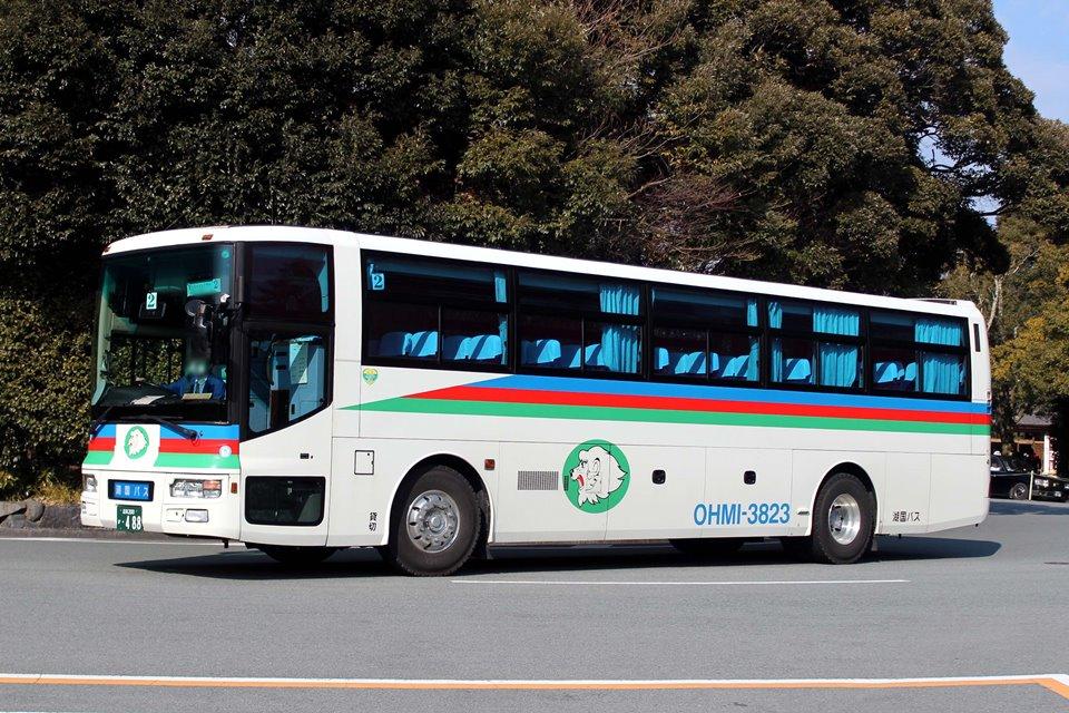 湖国バス 3823