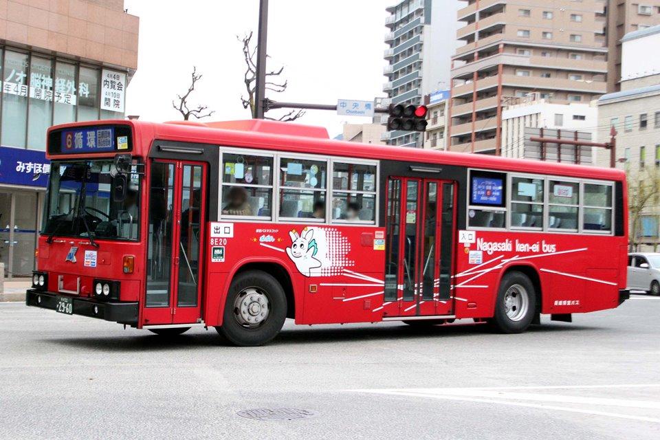 長崎県交通局 8E20