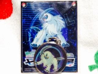 七夜の願い星 ジラーチ アブソル メタルキーホルダー2
