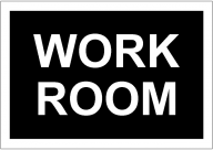 WORKROOM POSTER TEMPLATE