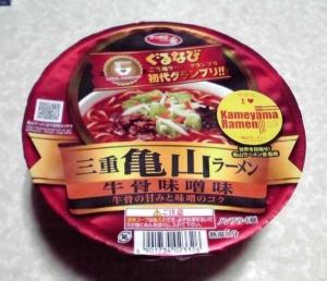 三重 亀山ラーメン 牛骨味噌味