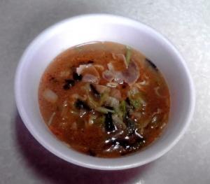 饗 くろき 味噌そば(カップ版)(できあがり)