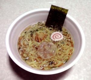 名店の味 くじら軒 濃口醤油らーめん 麺1.5盛(できあがり)