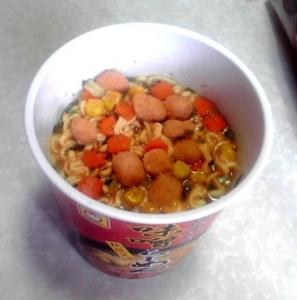 四季物語 秋限定 秋味わう味噌らーめん(できあがり)