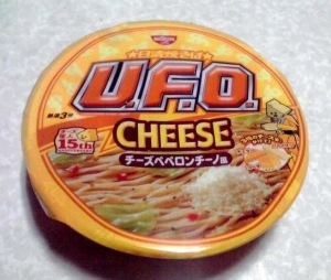 日清焼そば U.F.O. チーズペペロンチーノ風