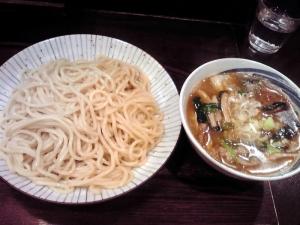 綿麺 フライデーナイト Part84 (15/3/13) 春キャベツとエリンギの塩つけ麺