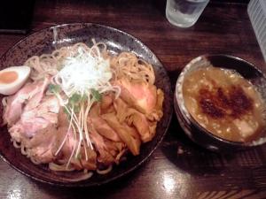 綿麺 つけ麺 大(2015年5月)
