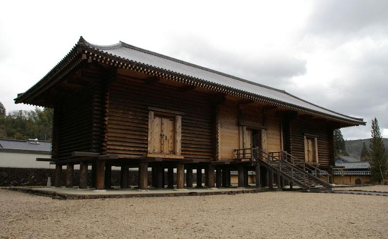 御物の倉 正倉院