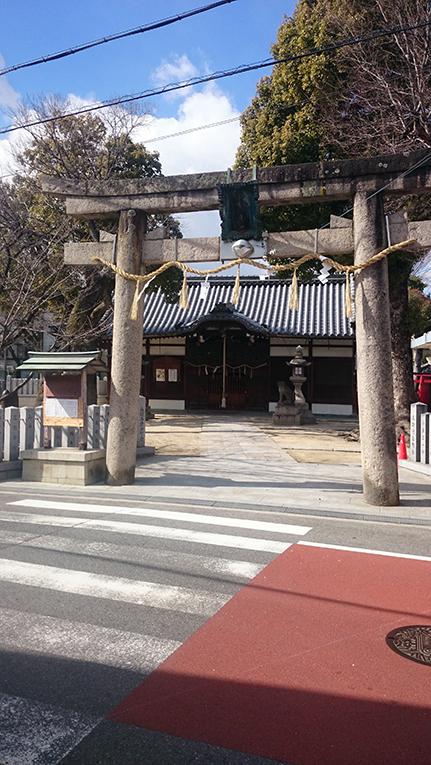 2015-02-13 瓜破天神社鳥居4