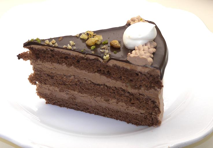 むっちりビターな大人?のチョコケーキ