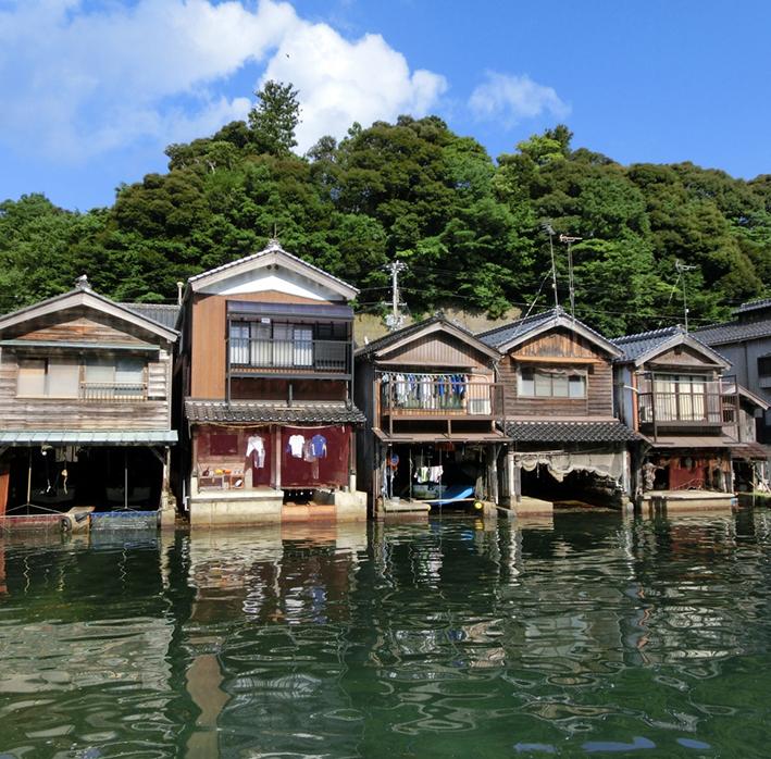 次回は是非訪れたい伊根町の舟屋